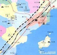 兴城市行政地图
