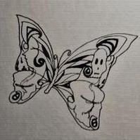 鬼美人是一种毒蝴蝶,全名卡申夫鬼美人凤蝶,传说中的卡申夫鬼美人