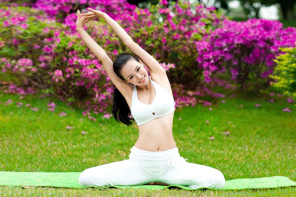 瑜伽活动图片素材
