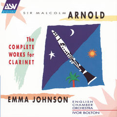 arnold: the complete works for clarinet