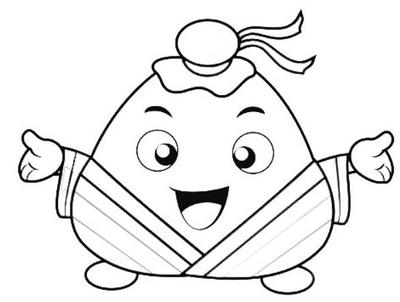 可爱的小粽子要怎么画?画对了付一百金