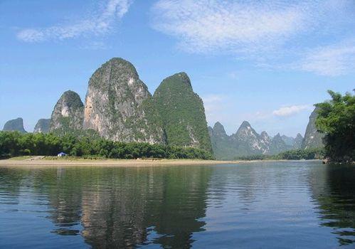 徐悲鸿《桂林风景》