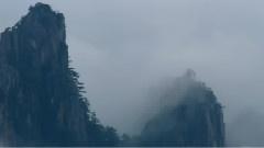 云海清泉奇黄山