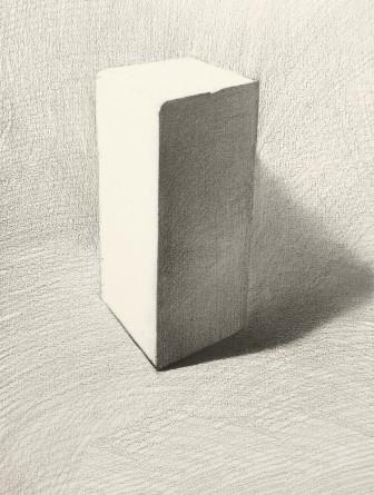 长方体怎么画步骤图片【相关词_ 素描长方体步骤图片】
