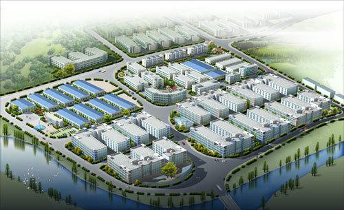武平工业园区鸟瞰图