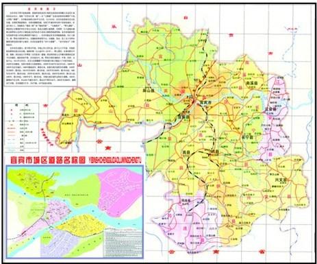 宜宾市高县月江镇地图