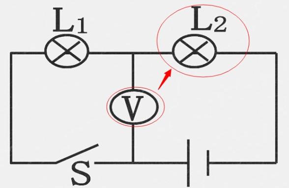 如何分辨电路中电压表具体测的元件