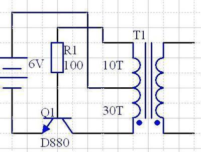 这个自激电路为什么不起振?是不是少反馈?