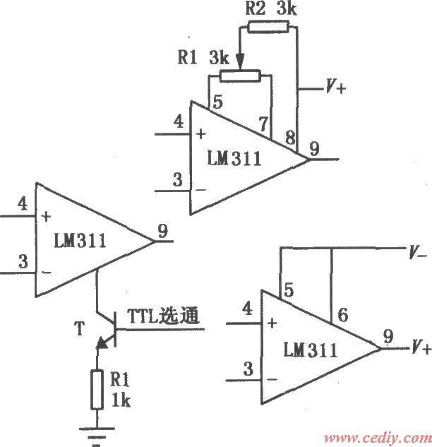 电压比较器是集成运放非线性应用电路,他常用于各种电子设备中,那么