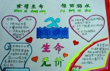 技术学校活动之防溺水第一次预警   珍爱生命,预防溺水,6年级手抄报珍图片