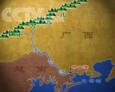 北仑地图高清版画