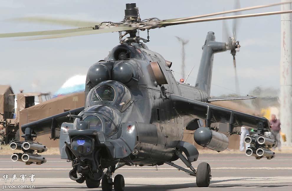 米-35m武装直升机