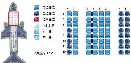 我的飞机票座位号是21F是什么意思_360问答