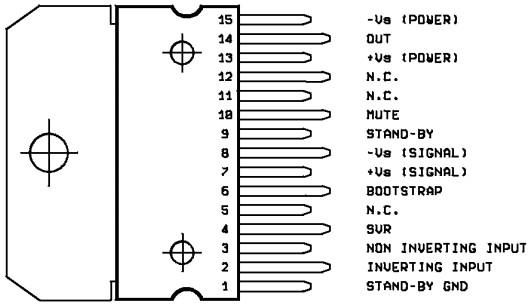 差分输入级由双极型晶体管组成,推动级和功率输出级采用场效应管,这种