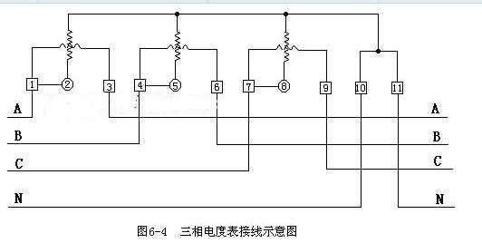 三相四线电表不接互感器