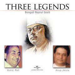 three legends - bengali nazrul geeti