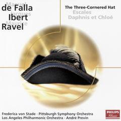falla: el sombrero de tres picos / ibert: escales / ravel: daphnis & chloë