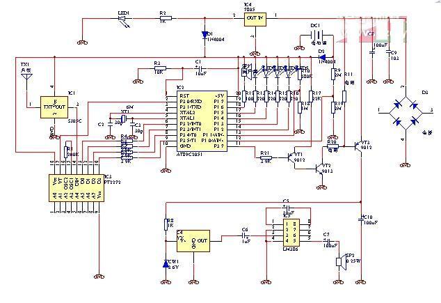 电路 电路图 电子 原理图 634_435